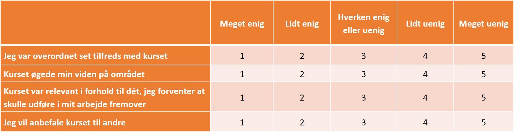 Roiit - Kirkpatrick Niveau 1 Enkel Undersøgelse